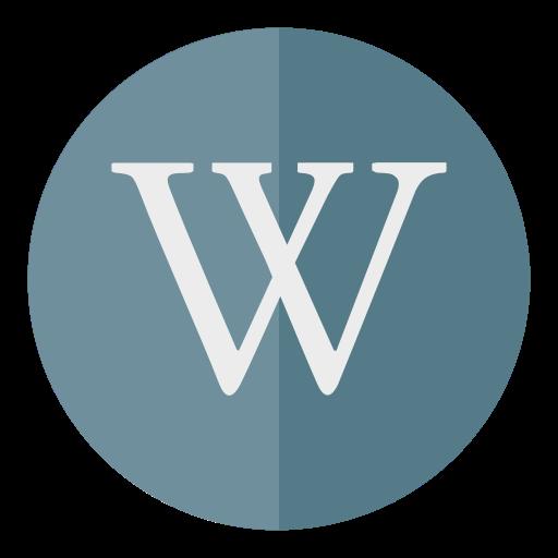 circle, media, wikipedia icon