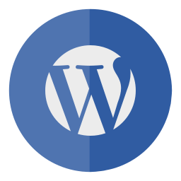 circle, wordpress icon