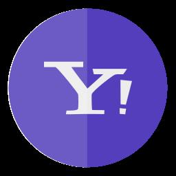 circle, yahoo icon