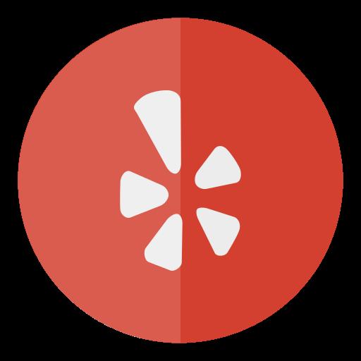 circle, media, social, yelp icon