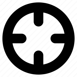 aim, crosshairs, gps, location, marker, social, target icon