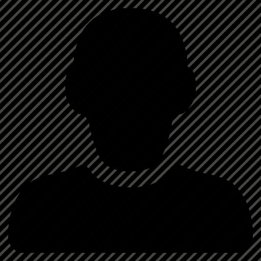 account, avatar, friend, man, person, profile, social, user icon