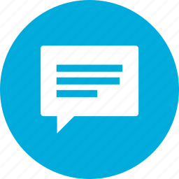bubble, comment, dialog, feedback, message, speech, talk icon