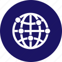 communication, connection, globe, internet, network, networking, social icon