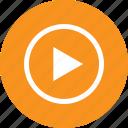 clip, media, play, run, scene, video