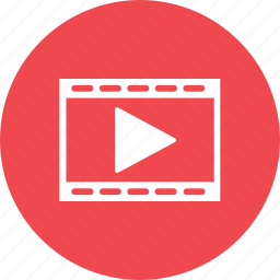 clip, entertainment, media, movie, play, scene, video icon
