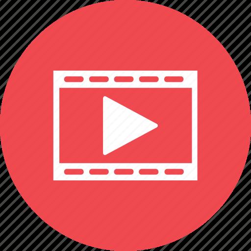 clip entertainment media movie play scene video icon