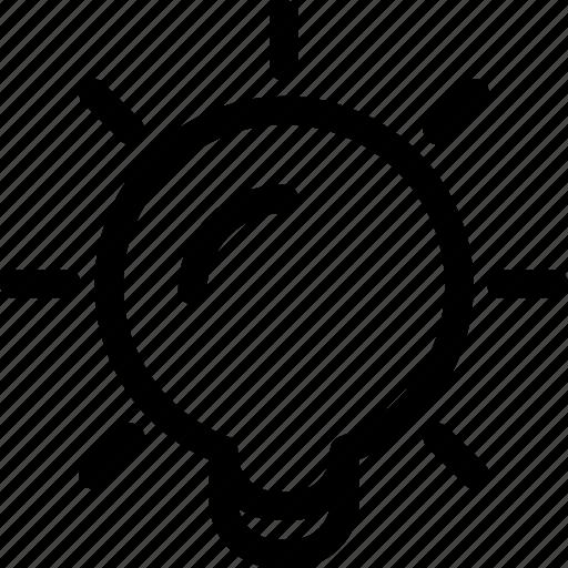 bulb, business, creative, electric, idea, lamp icon