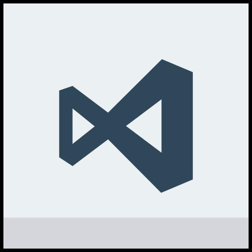 microsoft, studio, visual, windows icon icon
