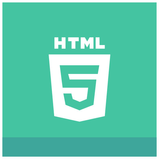 html5 icon, • html icon