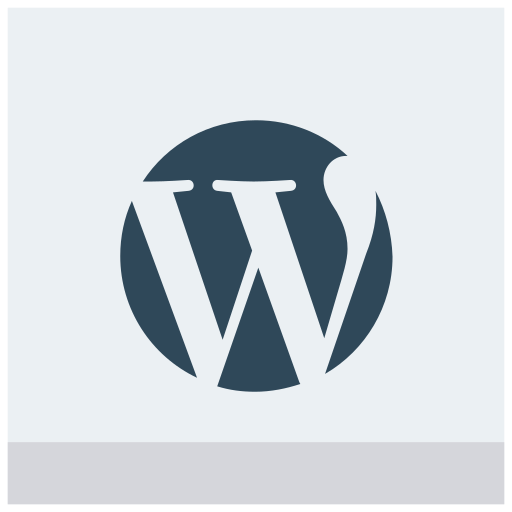 wordpress, wp icon icon