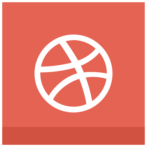 ball, dribbble icon icon