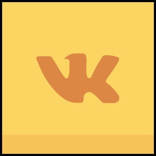 vk, vkontakte icon icon