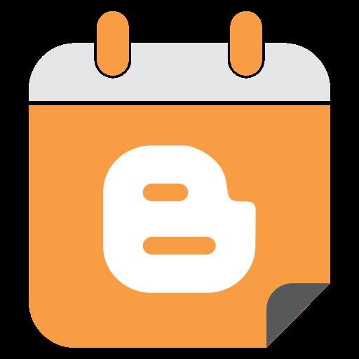 blogger, media, network, social, web icon