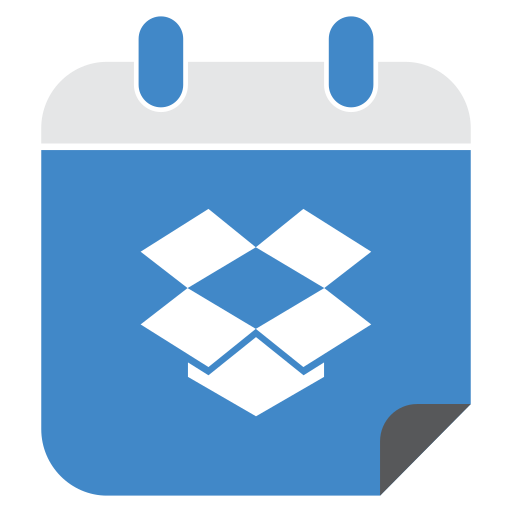 dropbox, media, network, social, web icon