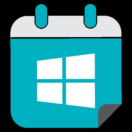 media, network, social, web, windows icon
