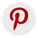 media, pintrest, social icon