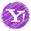 media, social, yahoo icon