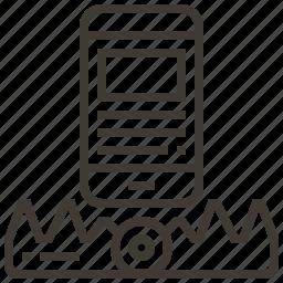 device, snare, trap icon