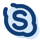 call, chat, skype, talk, video chat icon
