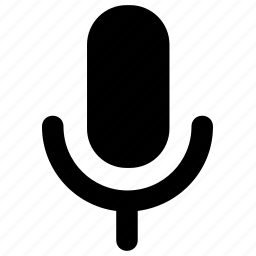 mic, microphone, recording, speaker, speech icon icon