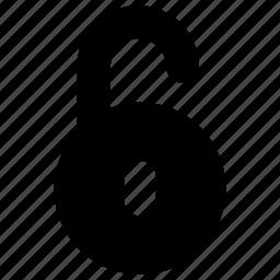lock, secure, unlock, unlocked icon icon