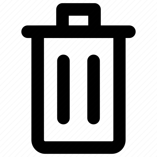 delete, garbage, recycle, rubbish, trash icon icon