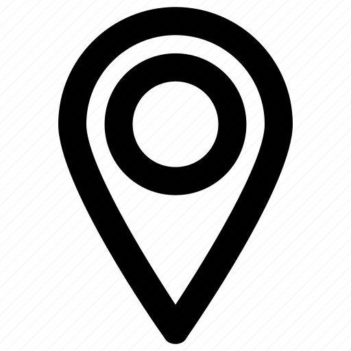 address, location, map, marker, navigation icon icon