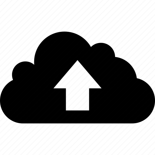 arrow, cloud, data, direction, download, storage, up icon