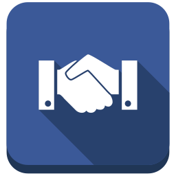 agreement, business, contract, deal, friend, hands, handshake, hello, social icon