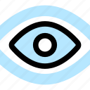 eye, observer, watch icon