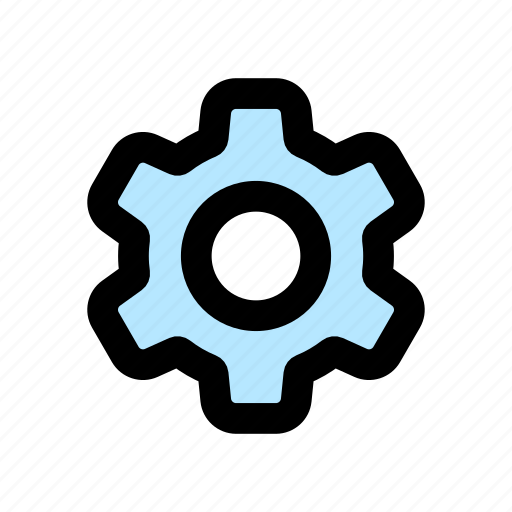 configuration, gear, options, settings, system, tools icon