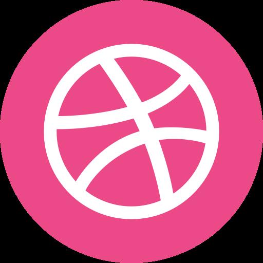 Creative, Dribbble, Graphic, Modern, People, Web Designer Icon