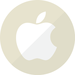 apple, champagne, communication, gold, golden, mobile, technology icon