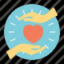 benefactor, benevolence, charity volunteers, heart care, heart love hands
