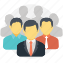 business team, group of people, management, organization, team icon