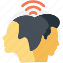 human interaction, mental harmony, personal exposure, social connection, social interaction icon