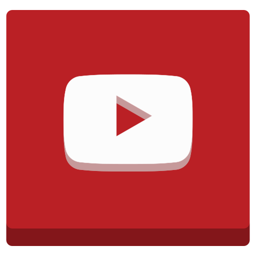 audio, broadcast, film, media, music, play, social, tv, video, youtube icon