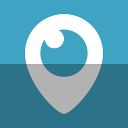 eye, logo, periscope, social network, tv, video, watch icon