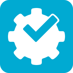 by, foursquare, powered icon