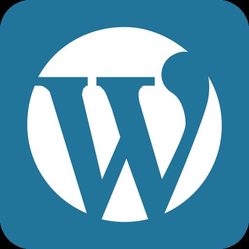 word press, wordpress icon