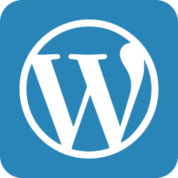 word press, wordpress icon