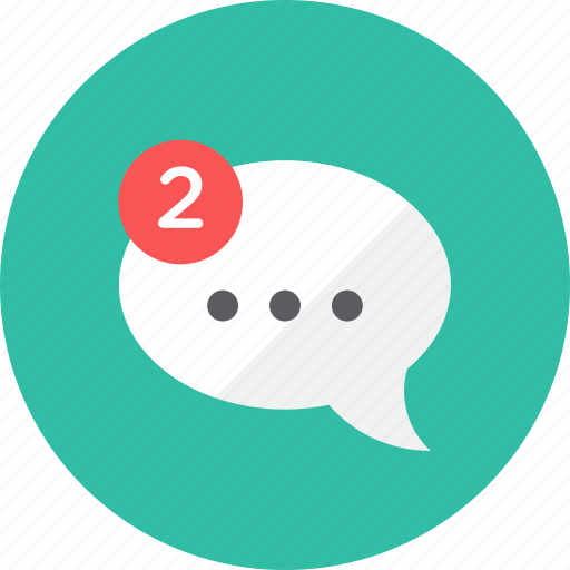 Chat, notification icon - Download on Iconfinder