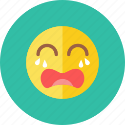 cry, smiley icon