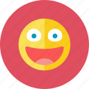 glad, smiley icon
