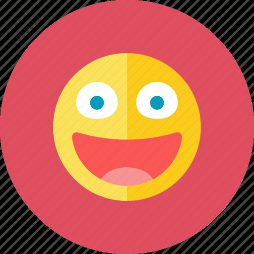 glad, smiley icon