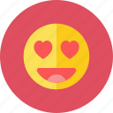 love, smiley icon