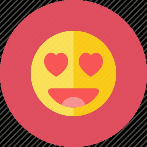 love, smiley icon