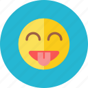 smiley, tease icon