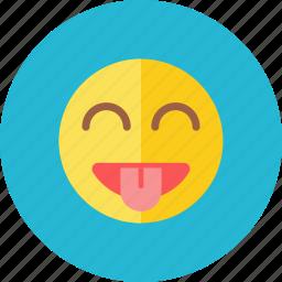smiley, tease icon